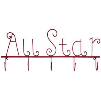 All Star Decor With Hooks